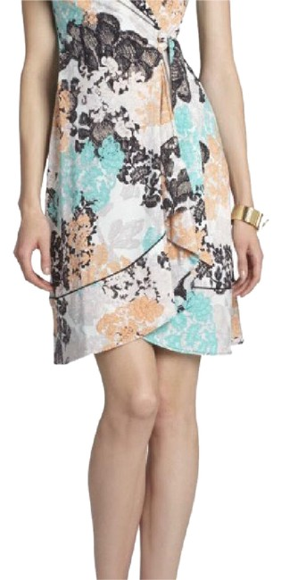 Item - Multicolor Lylee Printed Wrap Mid-length Work/Office Dress Size 0 (XS)