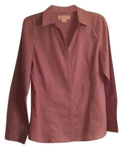 Michael Kors Button Down Shirt Mauve