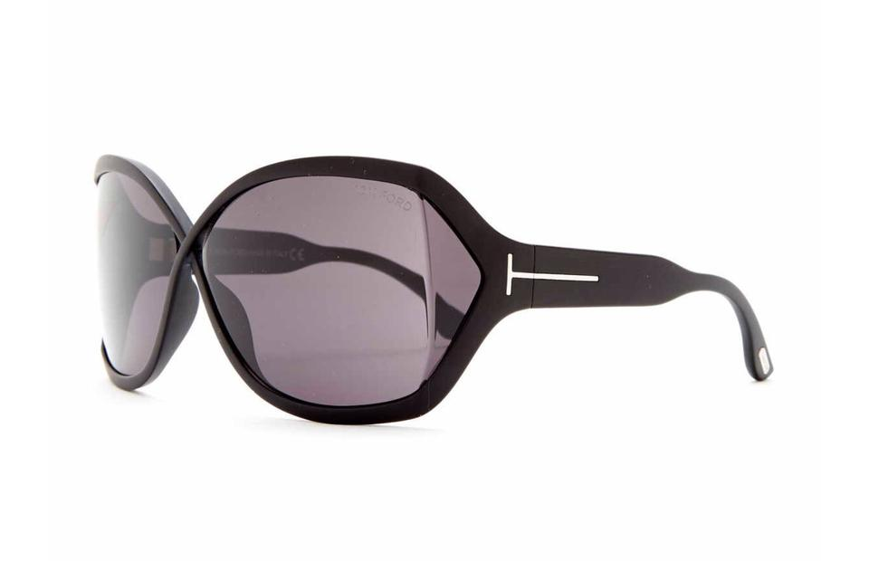 a6210464ca2 Tom Ford Black New Julianne Matte Oversized Ft0427 02a Sunglasses ...