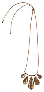 Kendra Scott Rose Gold Brown Pearl Rhyan Necklace