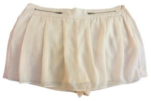 Double Zero Dress Shorts Cream