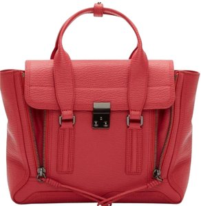 3.1 Phillip Lim Satchel in Raspberry