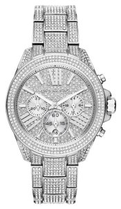 Michael Kors Chronograph Crystal Pave Dial Ladies Watch