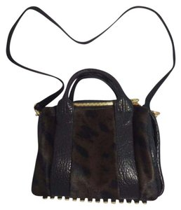 Alexander Wang Satchel in Lepard Haze