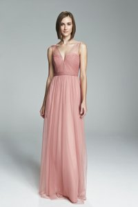 Amsale Blush Alyce Dress