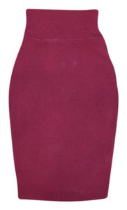 Truly Madly Deeply Skirt Maroon Red