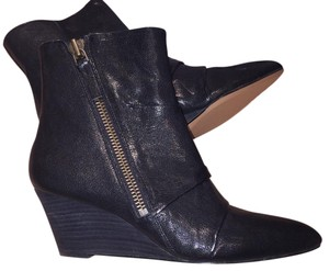 e16201ef18cf Added to Shopping Bag. Nine West Pointed Toe Rocker New Wedge Black Boots