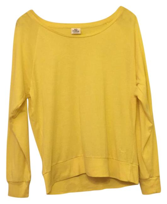 Item - Long Sleeved Tee Bright Yellow Sweater