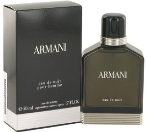 Giorgio Armani ARMANI eau de nuit pour homme 50 ml/1.7 oz EDT Men's New in box!!