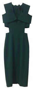 Cushnie et Ochs Bodycon Cut-out Night Out Date Night Cold Shoulder Dress