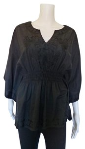 WD.NY Bohemian Top Black