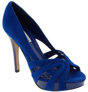 Steve Madden Pump Royal Blue Sandals