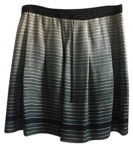 Vince Skirt Gray and blue