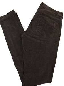 AG Adriano Goldschmied Skinny Pants Gray and black