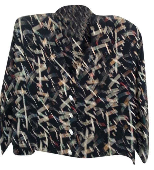 Preload https://item4.tradesy.com/images/nicole-miller-black-with-white-blue-red-geo-design-versatile-artful-top-and-skirt-suit-size-6-s-2053218-0-0.jpg?width=400&height=650