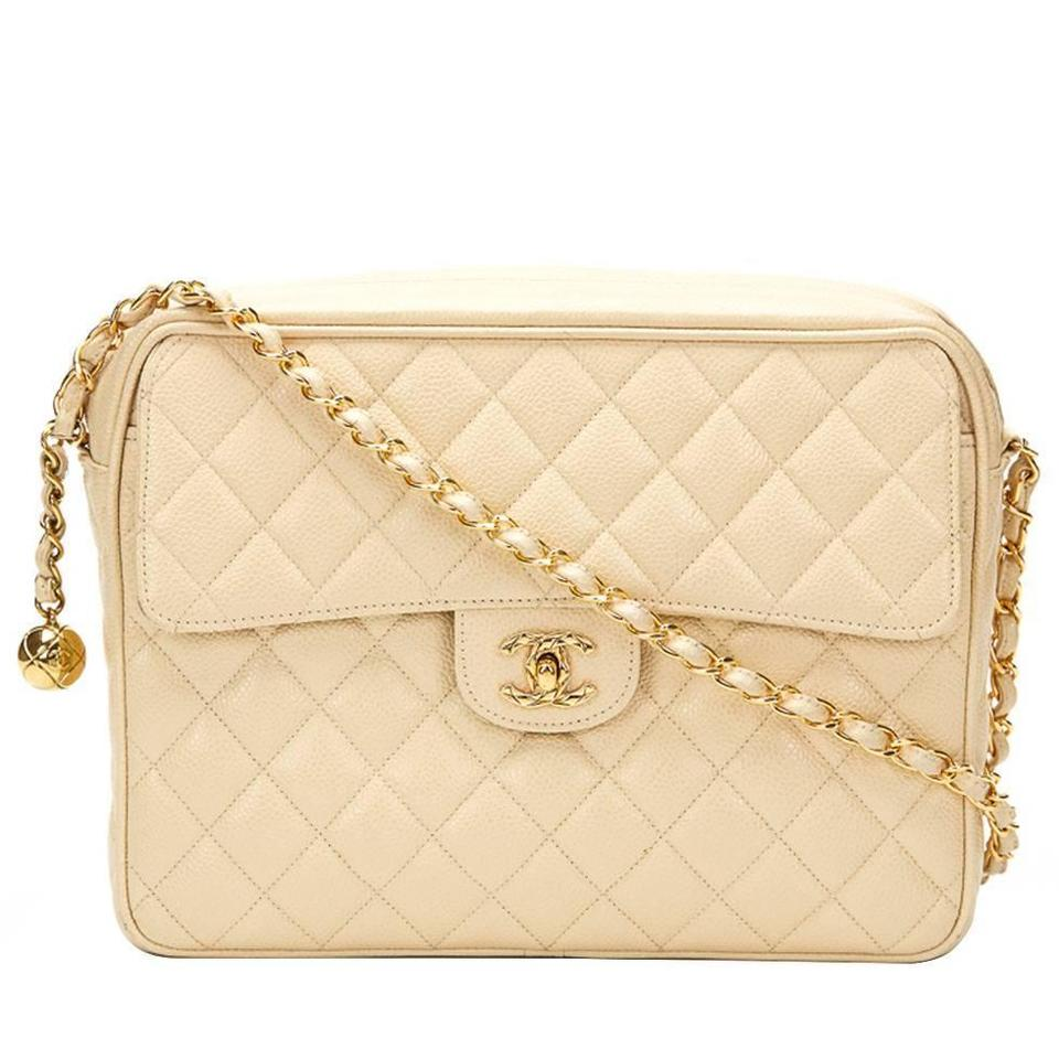 786aa4388525 Chanel Caviar Camera Vintage Quilted Quilted Shoulder Bag Image 0 ...