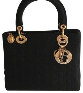 Dior Christian Mm Tote in Black