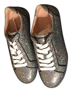 Christian Louboutin Silver/Disco/Glitter Athletic