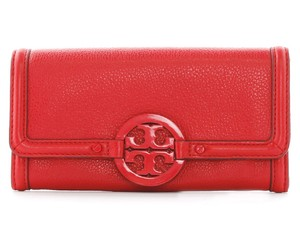 Tory Burch TORY BURCH LEATHER AMANDA CONTINENTAL ENVELOPE WALLET