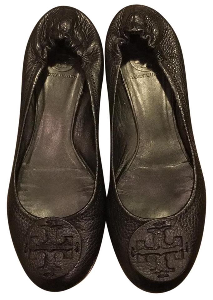 WOMENS First Tory Burch Leather Flats First WOMENS class in his class e509f8