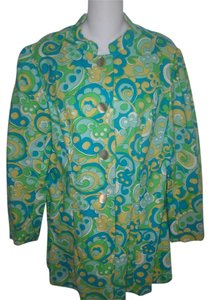 Other Vintage Paisley Hippie Boho Multi-Color Jacket