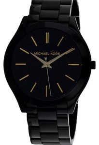 Michael Kors Men's Parker Black Stainless steel and Dial