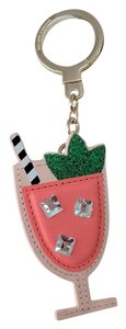 Kate Spade Passion Fruit Drink Bag Charm Keychain