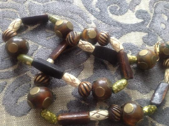 Vintage Tribal beaded necklace