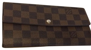 Louis Vuitton Louis Vuitton Damier Ebene Sarah wallet