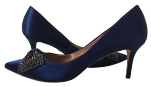 Badgley Mischka royal blue Pumps