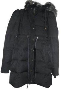 Juicy Couture Winter Faux Fur Gold Hardware Coat