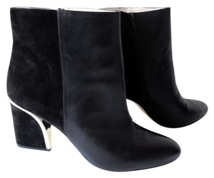 INC International Concepts Ankle Boot Suede Black Boots