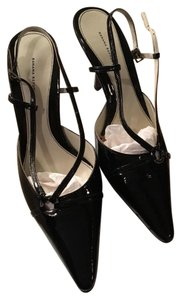 Banana Republic black patent Formal