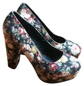 Forever 21 Multi-colored Platforms