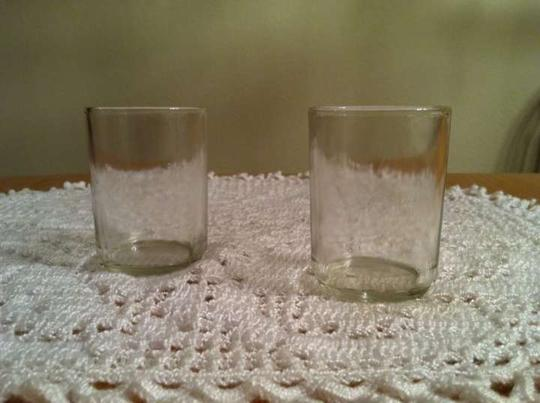 Mercury Silver Clear Glass Decor Votives Reception Decoration