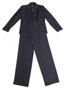 Dialogue Nwt Black Blazer Lined Suit Jacket and Pants Suit Set Size 4