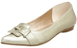 Diego di Lucca Light Gold Flats