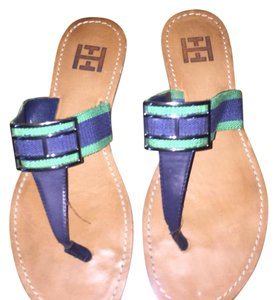 Tommy Hilfiger Navy/green Sandals