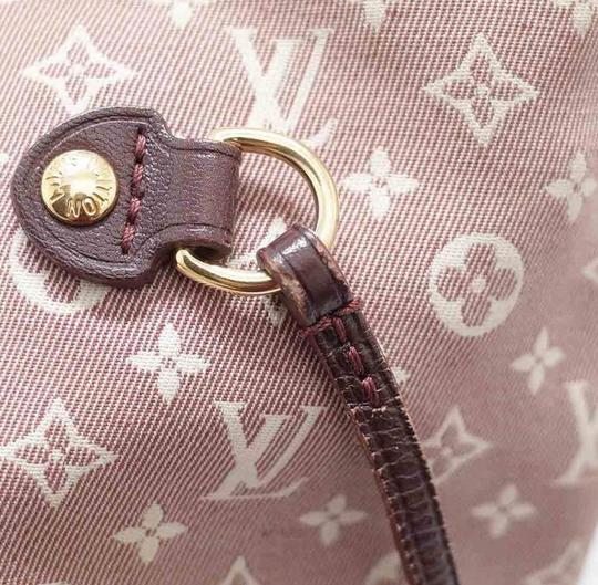 Louis Vuitton Neverfull Gm Idylle Mini Lin Tote in Burgundy Image 10