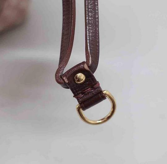 Louis Vuitton Neverfull Gm Idylle Mini Lin Tote in Burgundy Image 11