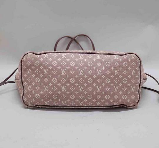 Louis Vuitton Neverfull Gm Idylle Mini Lin Tote in Burgundy Image 2