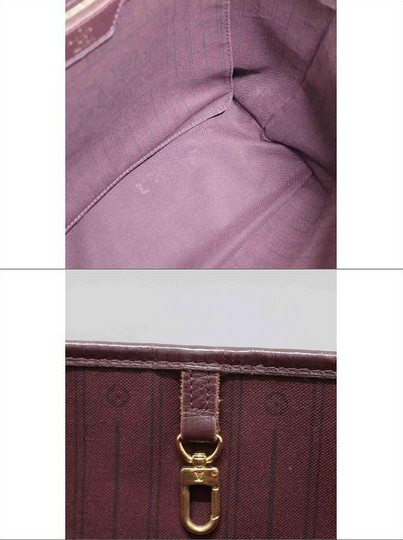 Louis Vuitton Neverfull Gm Idylle Mini Lin Tote in Burgundy Image 5
