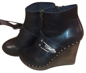 See by Chloé black Wedges
