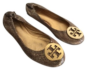 Tory Burch GOLD SNAKE Flats