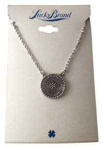 Lucky Brand NWT Lucky Medallion Necklace