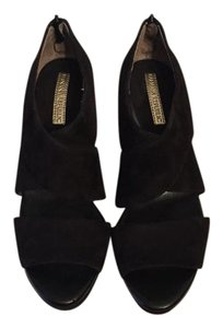 Banana Republic Aretha Suede Heels Black Pumps