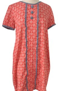 Orla Kiely short dress orange on Tradesy