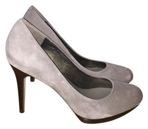Banana Republic Platform Pump Gray Pumps