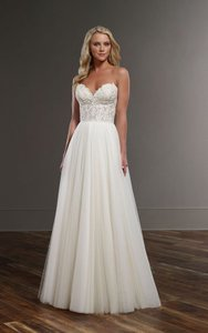 Martina Liana French Tulle Skirt ( Scout ) Wedding Dress