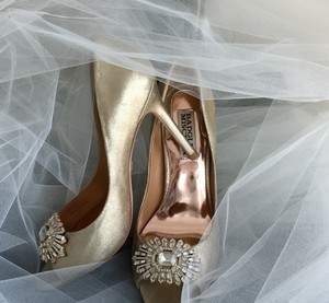 Badgley Mischka Bride Badgley Mischka Hollie Bridal Heels Wedding Shoes